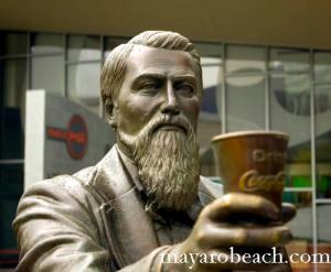 Dr. John Pemberton Invented Coca Cola