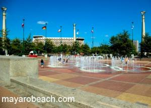 The OLympic Square in Atlanta