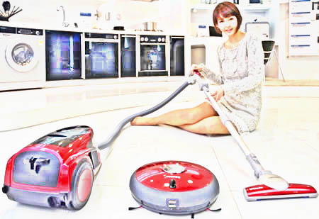 Getting Down With a Vacuum Cleaner