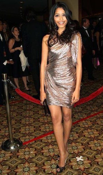 Freida Pinto at the Directors Guild Awards - 2009