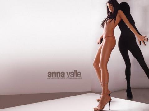 Anna Valle in a Micro Bikini