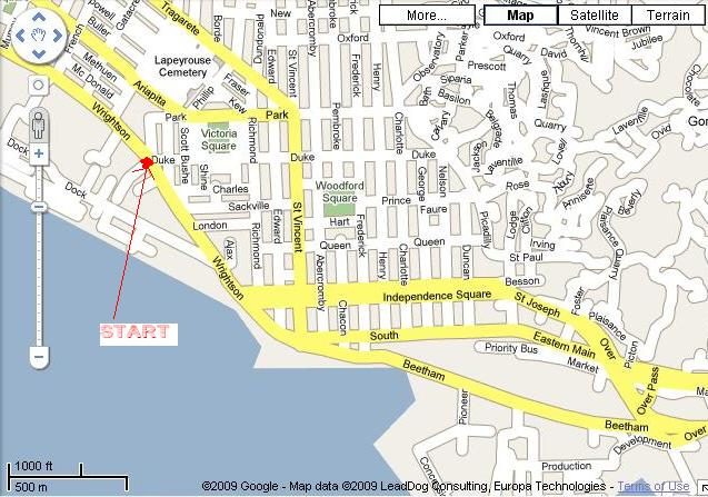 Port Of Spain Map | Maps Port Of Spain Map