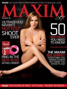 Maxim Maazine Cover