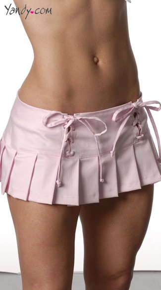 A shoelace Mini Skirt. It is difficult to imagine how this country will