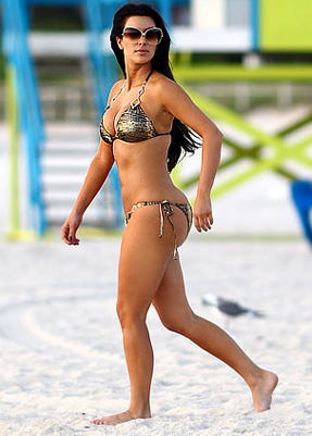 Is Kim Kardashians Butt Real