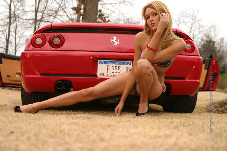 Hot_Ferrari_Girl. Hot Ferrari Girl