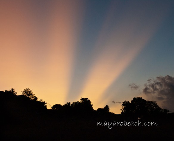 Sunrise - St. Augustine, Trinidad - July 13th 2011 at 5:36 a.m