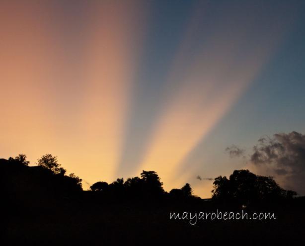 Sunrise - St. Augustine, Trinidad - July 13th 2011 at 5:36 a.m